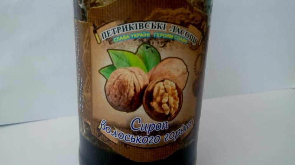 Сироп из грецкого орехаы