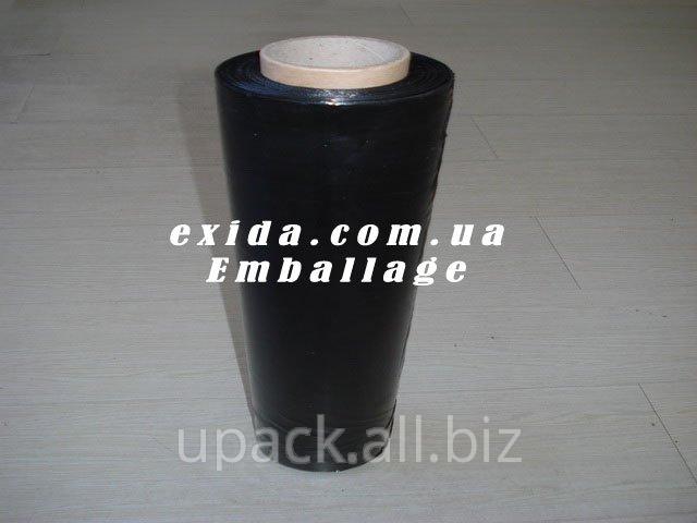 Пленка-стретч техническая чёрная