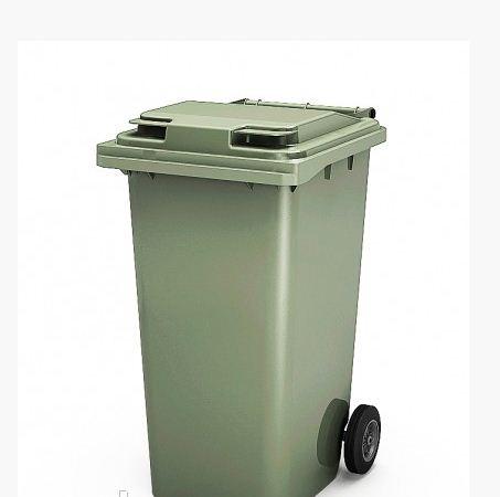 Мусорные контейнеры для ТБО на 120 л Зеленый