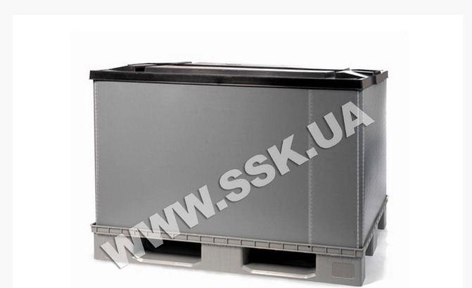 Контейнер пластиковый PolyBox H 1000 на поддоне
