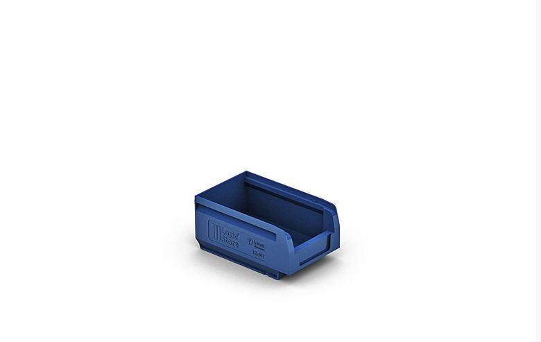 Пластиковый складской лоток 165х100х75 мм