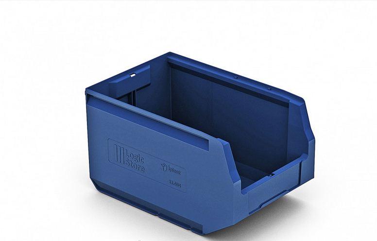 Пластиковый складской лоток 350х225х200 мм