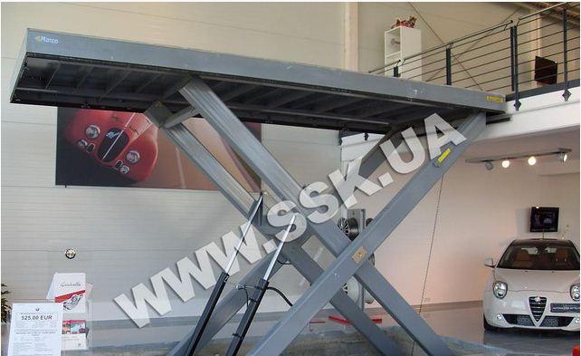 Автомобильный подъемник Marco 6100х2500мм