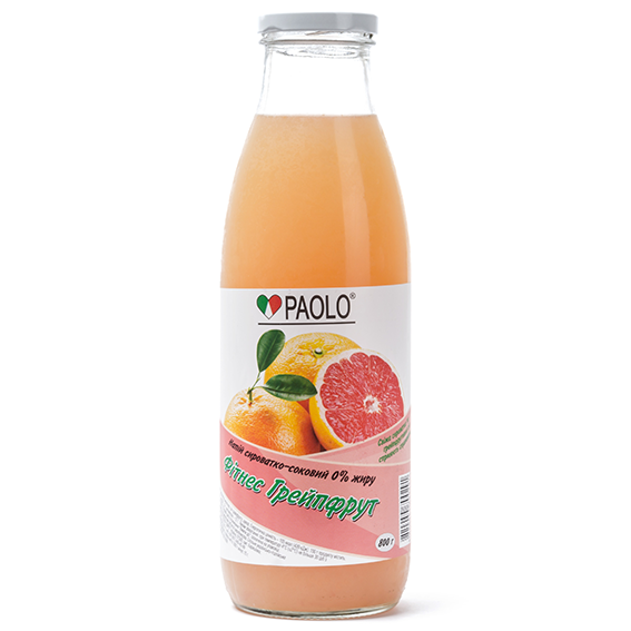 "Buy Drink the syrovatko-juice pasteurized ""fitness grapefruit"", TM ""PAOLO"" 800G"