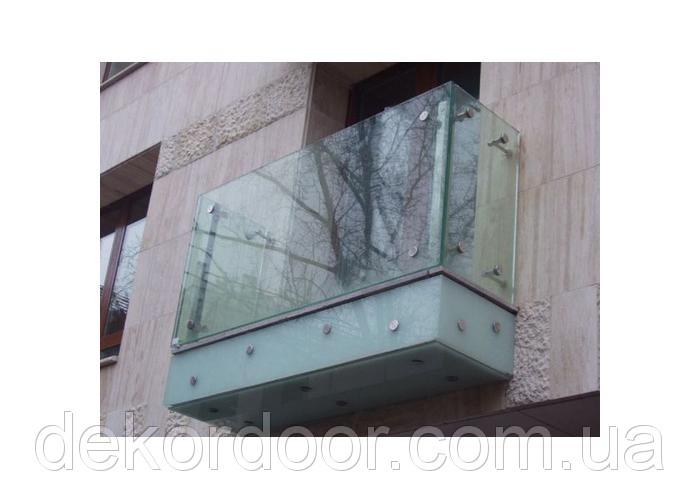 Купить Стеклянные перила для балконов