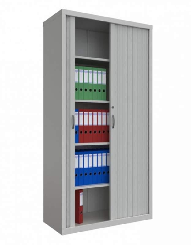 Шкаф архивный роллетный ШАР 914