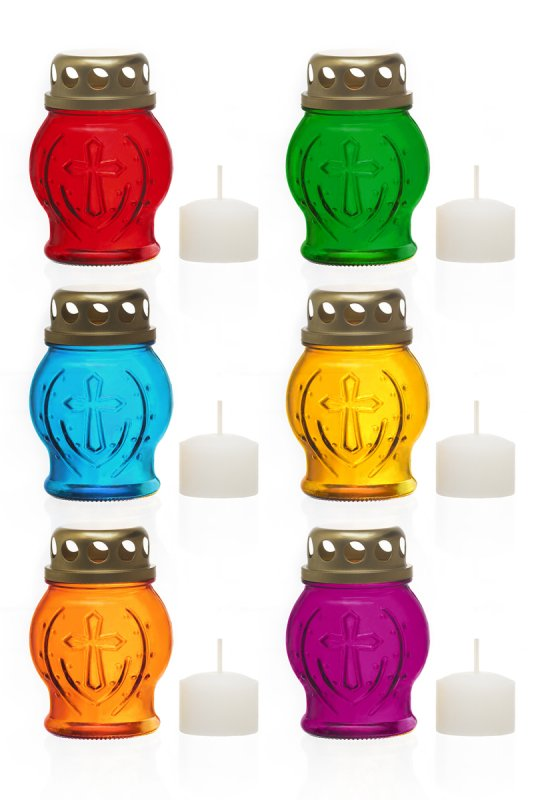 """Icon lamp glass """"P-20"""" (colors in assortment)"""