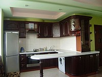 Buy Kitchens to order, chipboard, mdf, postforming, aluminum shape, natural tree, stone table-tops