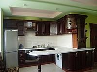 Купить Кухни на заказ, дсп, мдф, постформинг, алюминиевый профиль, натуральное дерево, каменные столешницы