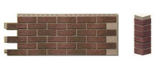 Панели пластиковые под кирпич Hand-Laid Brick