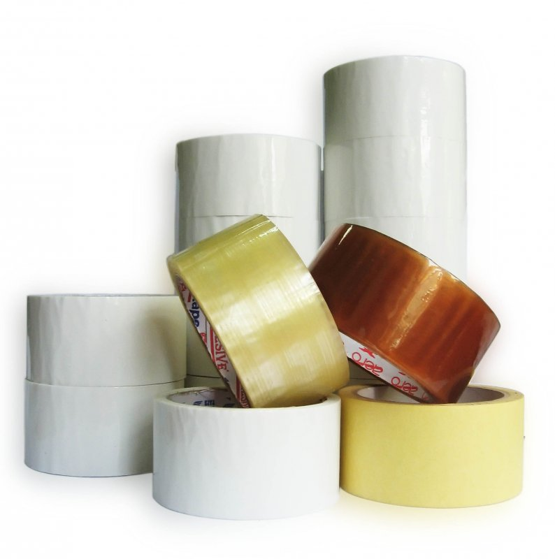 Buy Packing adhesive tape white glue acrylic