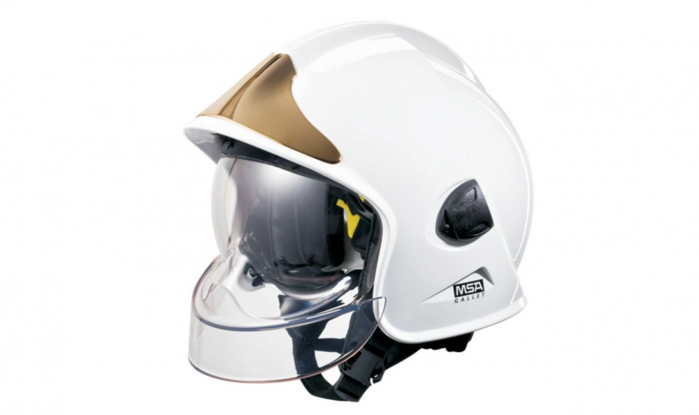 MSA 664DSY Cairns Invader 664 Composite Fire Helmet with