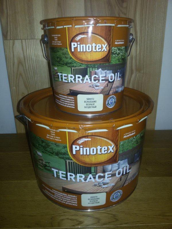 Купити Масло для тераси PINOTEX TERRACE OIL