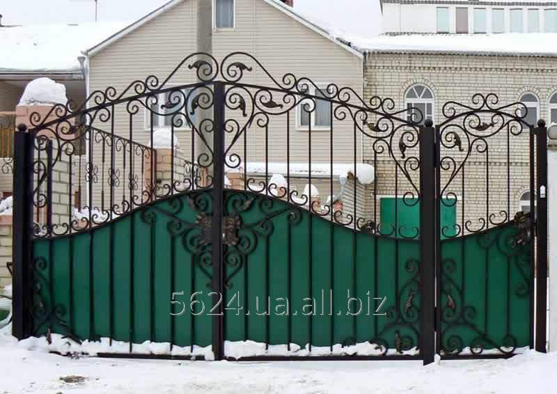 Купить Ворота металлические