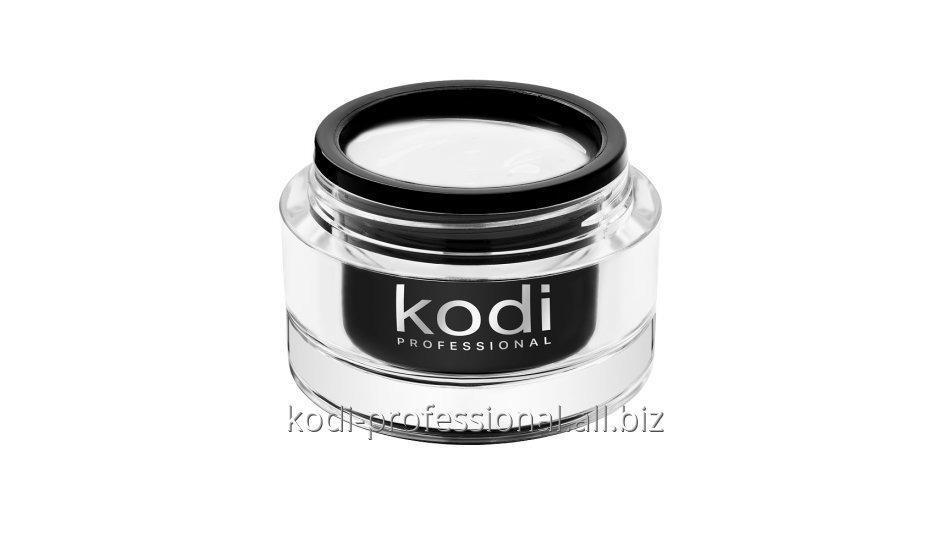 UV Gel Intense white gel Kodi professional 28 мл Гель ярко белый конструирующий