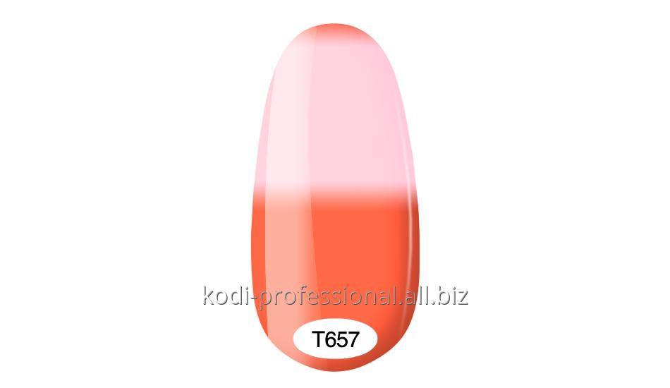 Термо гель лак Kodi professional 8 мл тон Т657