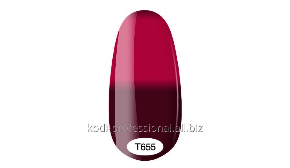 Термо гель лак Kodi professional 8 мл тон Т655