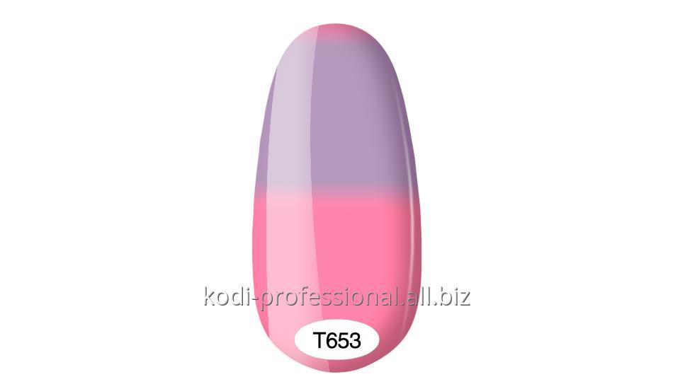 Термо гель лак Kodi professional 8 мл тон Т653