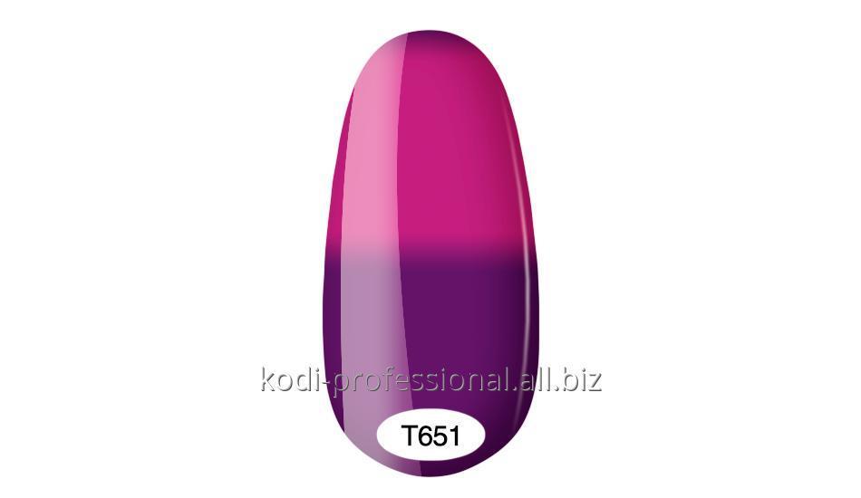 Купить Термо гель лак Kodi professional 8 мл тон Т651