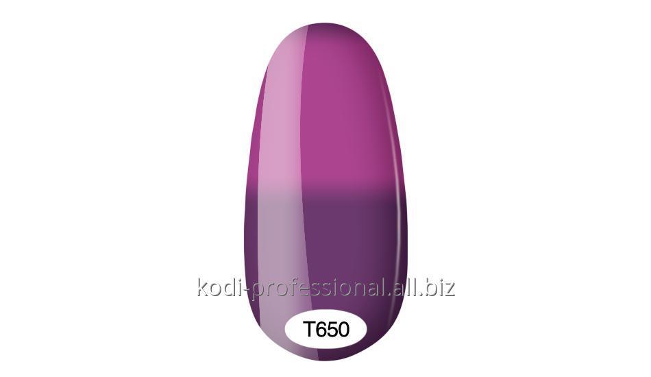 Термо гель лак Kodi professional 8 мл тон Т650