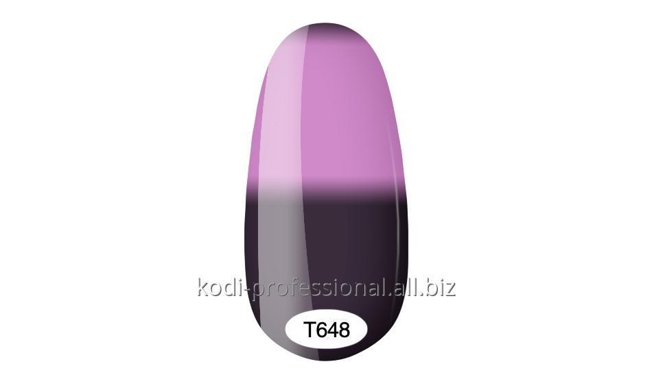 Термо гель лак Kodi professional 8 мл тон Т648