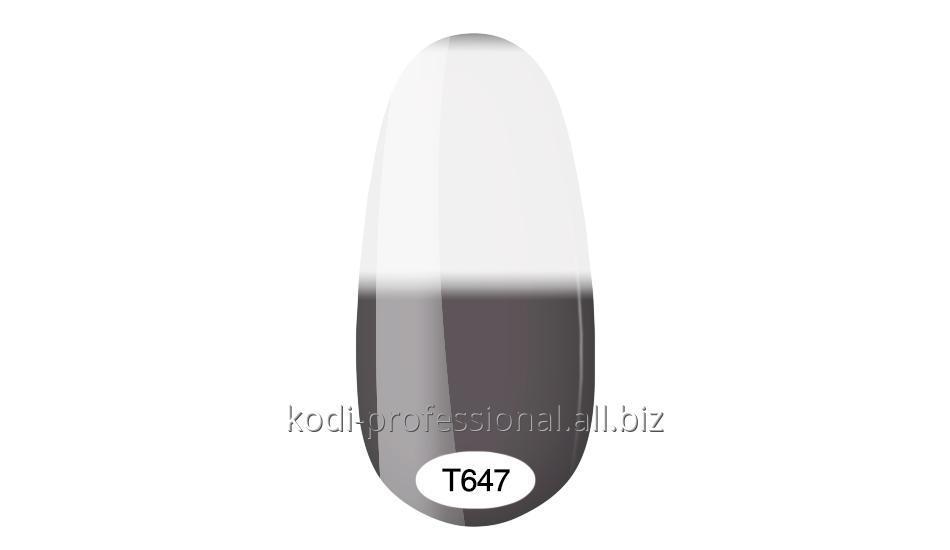 Термо гель лак Kodi professional 8 мл тон Т647