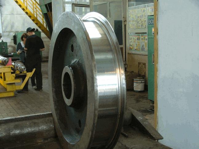 Buy Wheel subcrane restoration, pr-in Engineering plant the Edging, Ukraine