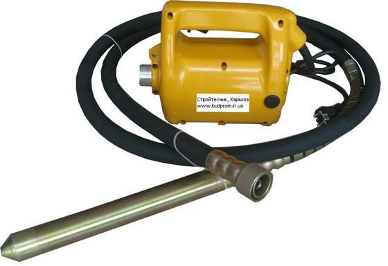 Купить Глубинный вибратор 220В,4м,булава 38 мм;портативный вибратор 220в,2м,булава 38 мм(640грн)