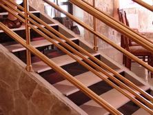 Treppen: Edelstahl
