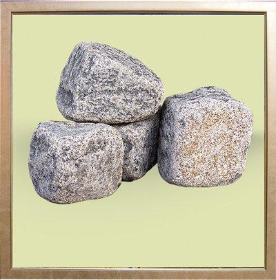 Брусчатка катанная габбро 10х10х10; 5х5х5