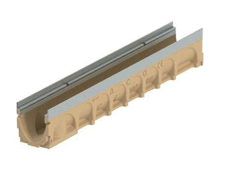 Канал ACO Civicline CL100, тип 0.0 з оцинк. кромкою, h=150мм, 1 м