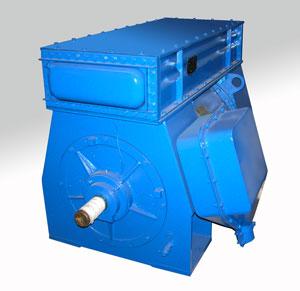 Электродвигатели серии 4АЗМ, 4АЗМП (4АТД)  с короткозамкнутым ротором общепромышленного исполнения, с замкнутой системой воздушного охлаждения мощностью от 315 до 8000 кВт.