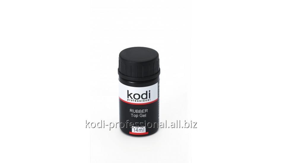 Каучуковое верхнее покрытие для гель лака Rubber Top Kodi professional 14 мл