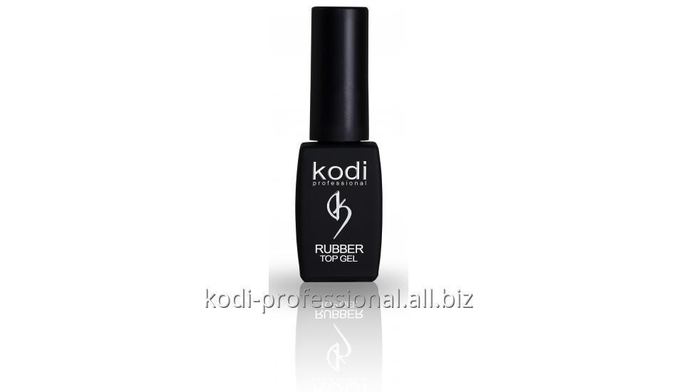 Каучуковое верхнее покрытие для гель лака Rubber Top Kodi professional 8 мл