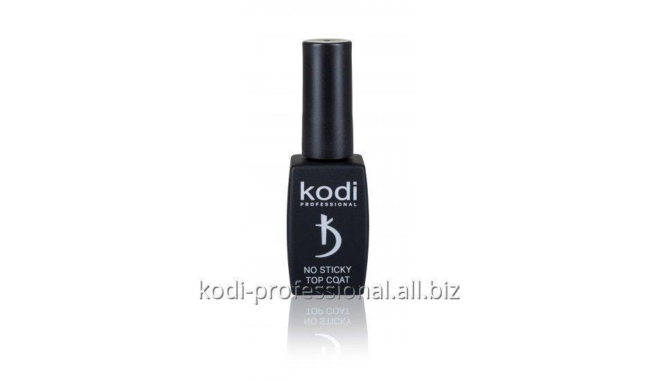 No Sticky Top Coat Kodi professional 12 мл- финишное покрытие для гель-лака без дисперсионного слоя.