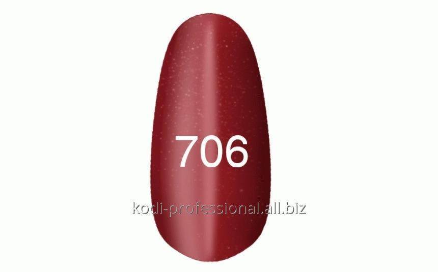"""Buy Gel varnish of 8 ml of Kodi """"Moonlight"""" tone 706"""