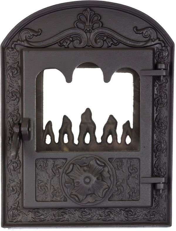 Дверцы для печей и каминов BAROKK,  Большие двери (380*500/275*340)