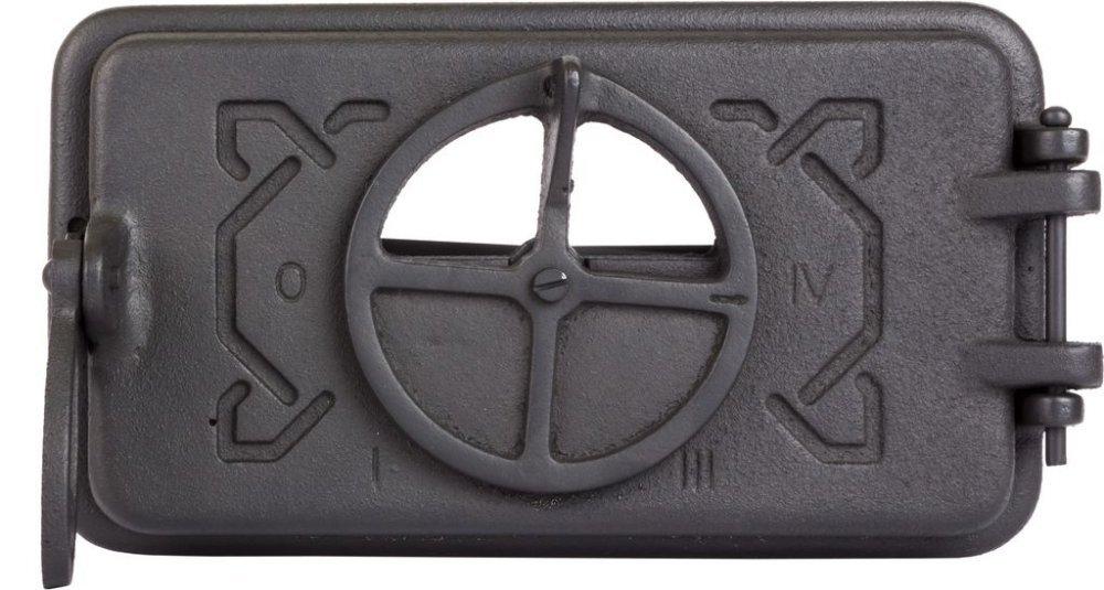 Зольные дверцы для печи DOMINO 265х150/210X110