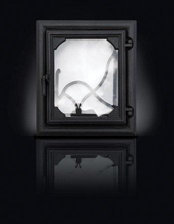 Печные дверцы Lira 360*420/270*333