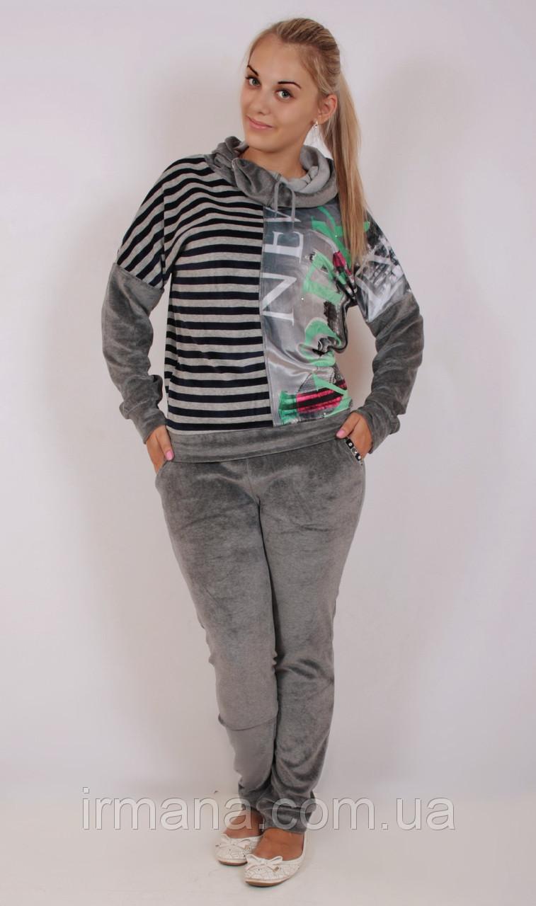 Женский велюровый костюм Мышь 01 купить в Харькове cd2cbd5757c