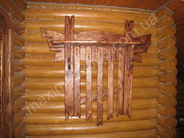 Деревянные вешалки своими руками фото