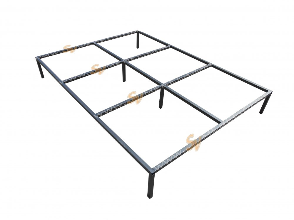 Buy Frame all-welded for a double bed of 2000*2000 mm