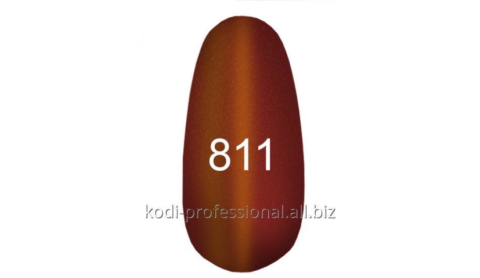 Купити Гель лак Kodi тон 201 бронзовий з перламутром, блискітками 7 мол.