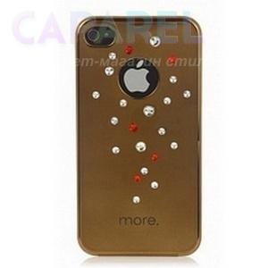 Купить Чехлы More Noel Collection Lumina Series для iPhone 4/4s gold
