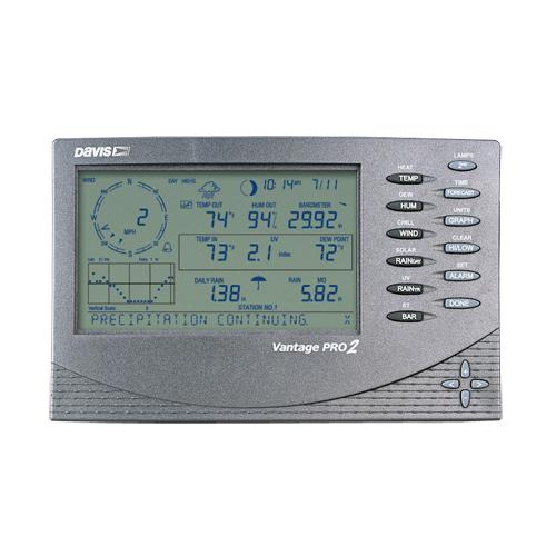 Консоль управления для проводной метеостанции Vantage Pro2 Davis 6312C