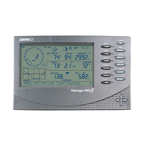 Buy Davis 6312C the Console of management for a wire meteorological station of Vantage Pro2