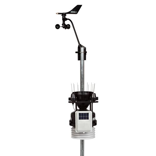Блок датчиков метеостанции Vantage Pro2 Plus 6327OV с солнечными датчиками и беспроводным модулем передачи данных на дисплей Davis 6327OV