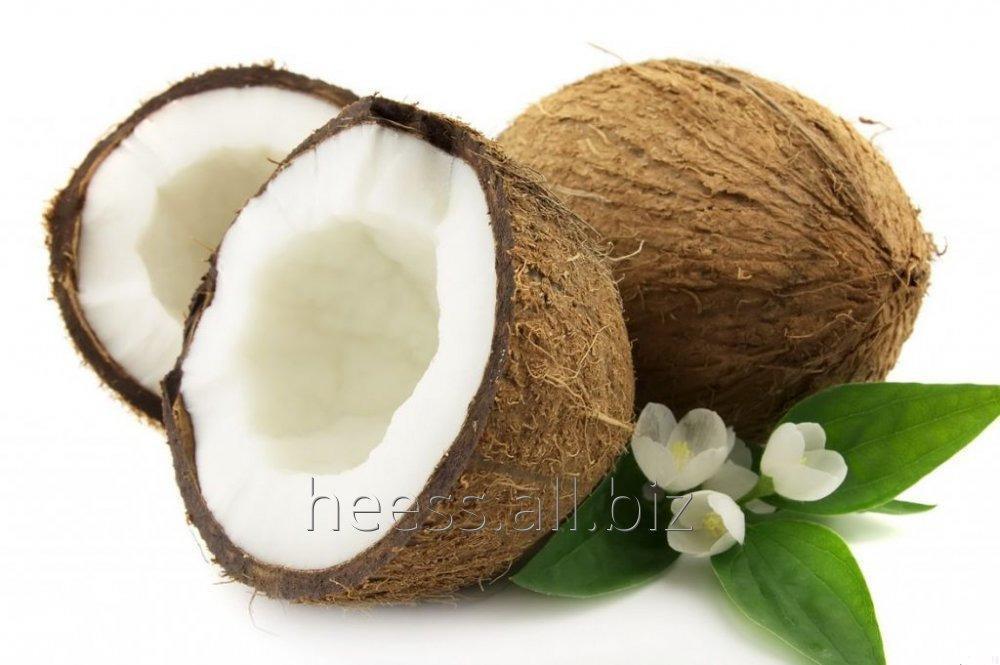 Масло кокоса водорастворимое, ВРМ кокос от 1 кг