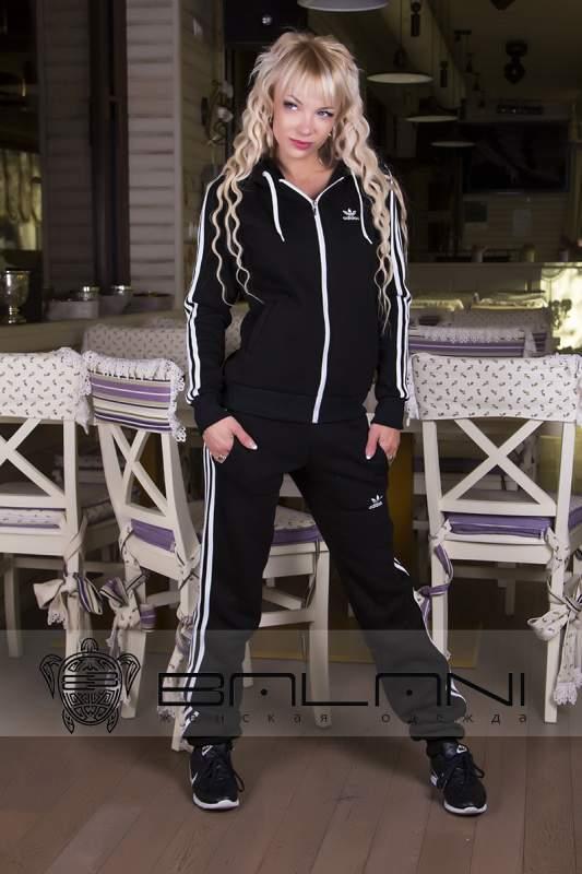 Жіночі спортивні костюми Спорт костюм Adidas (709 АР)  Чорний купити ... dcca82d27c8fb