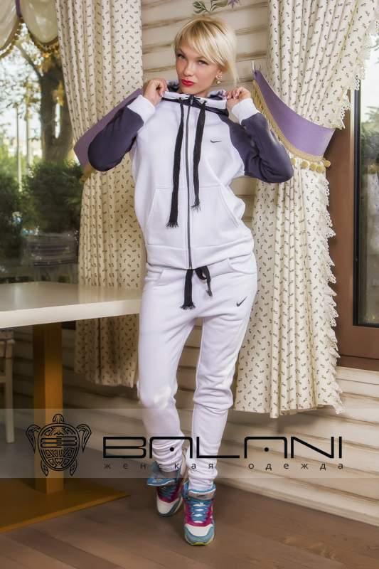 Жіночі спортивні костюми Спорт костюм Nike (269  ВІД) теплий   білий ... 244231b699e10